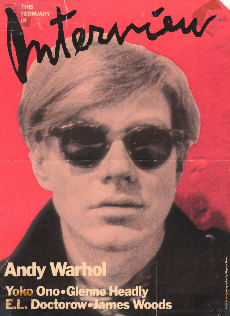 Andy Warhol, Interview