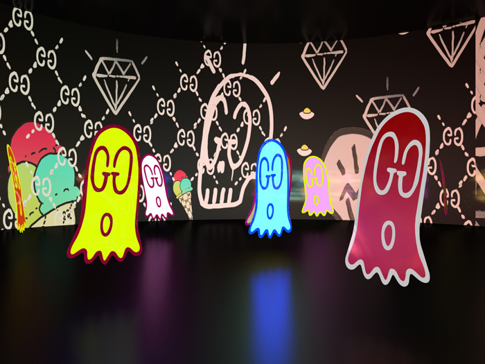 gucci ghost room