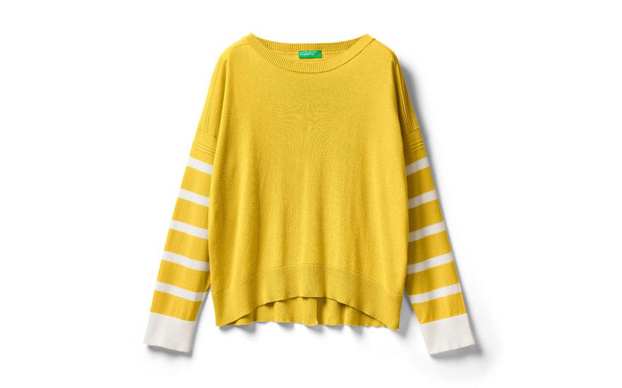 Blusa Benetton de manga larga