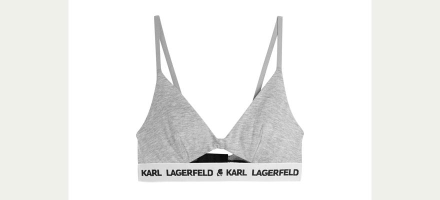 Sujetador deportivo Karl Lagerfeld