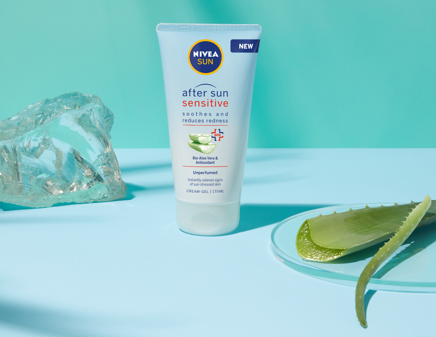 nivea sun after sun sensitive gel