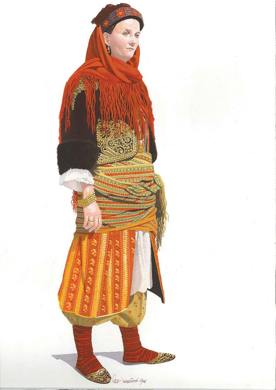 Παραδοσιακή φορεσιά Καστελόριζου
