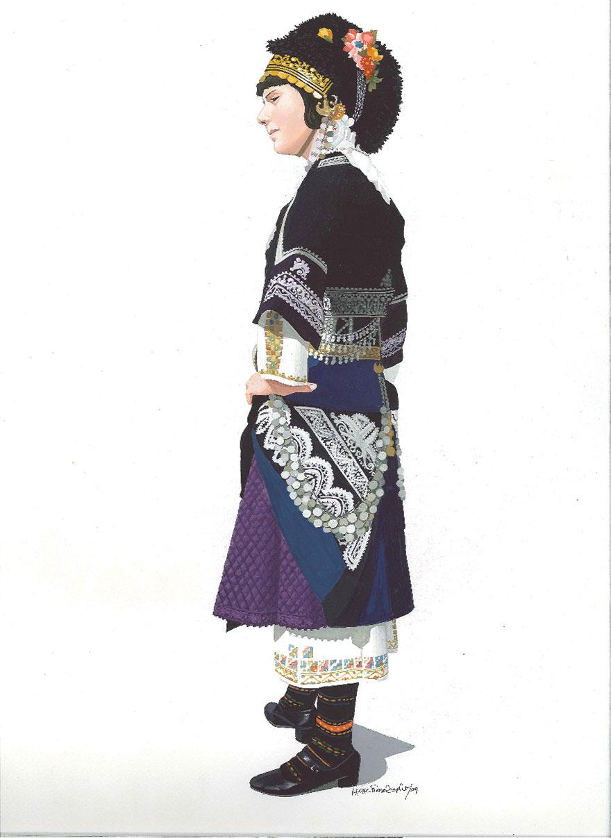 Παραδοσιακή φορεσιά Μακεδονίας