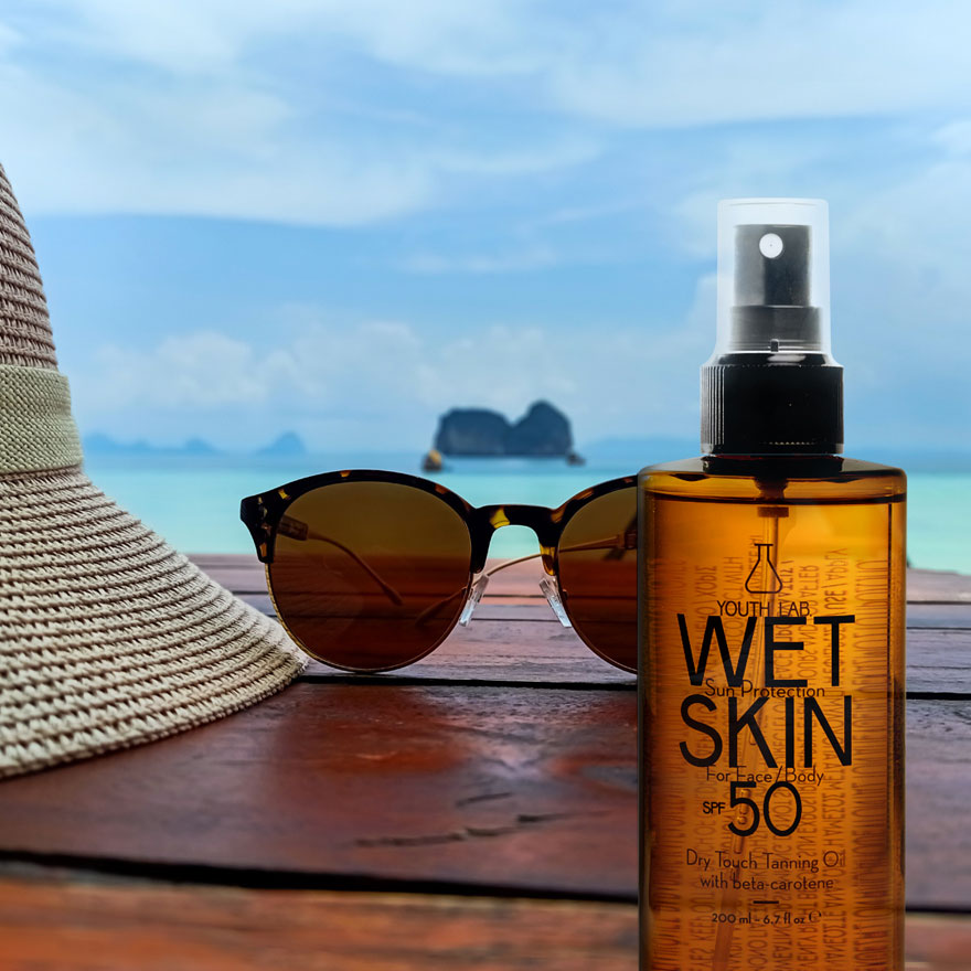 YOUTH LAB. - Wet Skin Sun Protection SPF 50