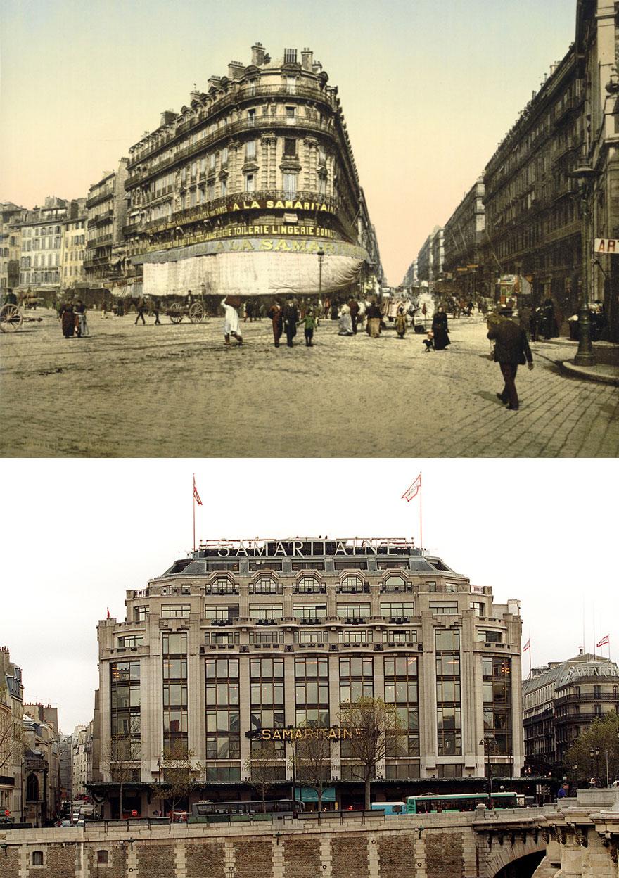 Samaritaine: el edificio icónico de la década de 1930 y principios del siglo XXI